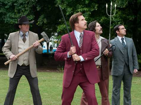 Anchorman 2: The Legend Continues - David Koechner, Will Ferrell, Paul Rudd, Steve Carell