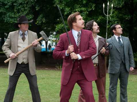 Anchorman 2: The Legend Continues - David Koechner, Will Ferrell, Paul Rudd, Steve Carell