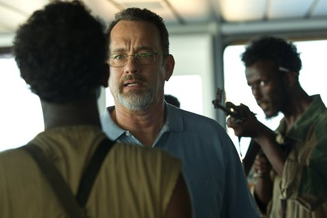 Captain Phillips - Barkhad Abdi (back), Tom Hanks