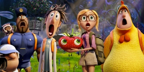 Cloudy with a Chance of Meatballs 2 - awe