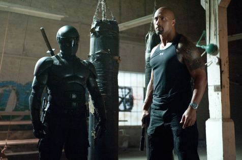 G.I. Joe: Retaliation - Ray Park, Dwayne Johnson