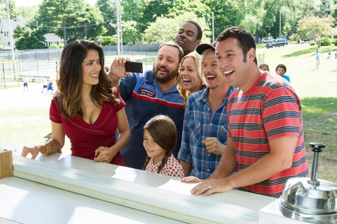 Grown Ups 2 - Salma Hayek, Chris Rock, Kevin James, Maria Bello, David Spade, Adam Sandler