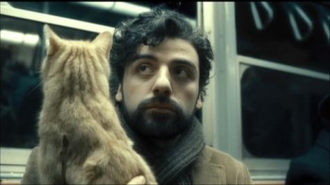 Inside Llewyn Davis - cat, Oscar Isaac