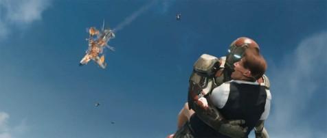 Iron Man 3 - Air rescue