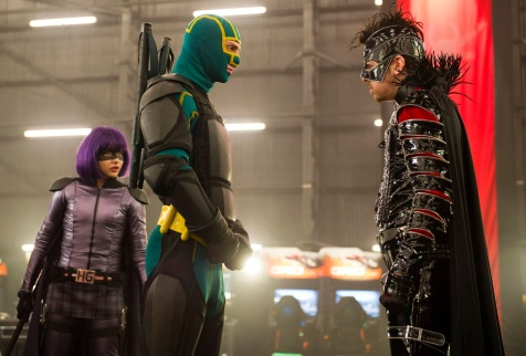 Kick-Ass 2 - Chloë Grace Moretz, Aaron Taylor-Johnson, Christopher Mintz-Plasse