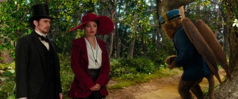 Oz the Great and Powerful - James Franco, Mila Kunis, Zac Braff (voice)