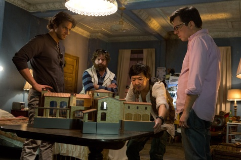 The Hangover Part III - Bradley Cooper, Zach Galifianakis, Ken Jeong, Ed Helms