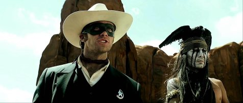 The Lone Ranger - Armie Hammer, Johnny Depp