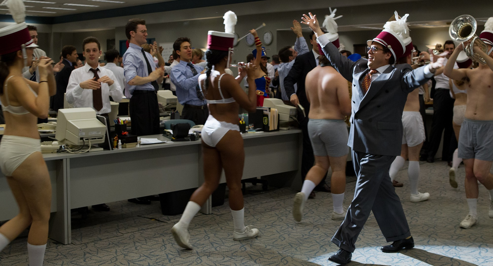 The Wolf of Wall Street - Jonah Hill, Marching Band