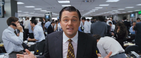 The Wolf of Wall Street - Leonardo DiCaprio