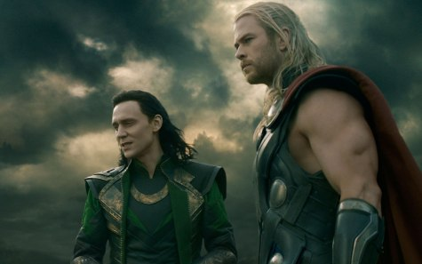 Thor: The Dark World - Tom Hiddleston, Chris Hemsworth