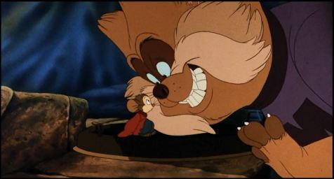 An American Tail - Fievel and Tiger