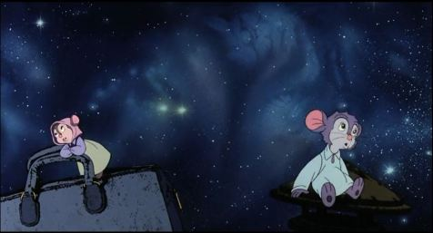 An American Tail - Somewhere Out There - Tanya and Fievel