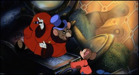 An American Tail - Warren T. Rat and Fievel