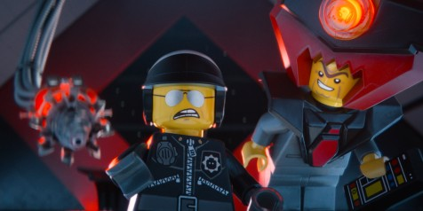 The LEGO Movie - Bad Cop (Liam Neeson) and Lord Business (Will Ferrell)