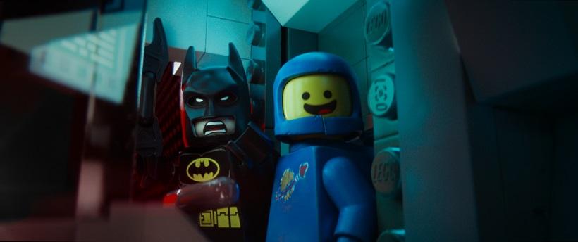 The LEGO Movie - Batman and Benny