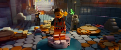 The LEGO Movie - Wyldstyle, Emmet, Vitruvius