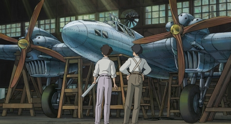 The Wind Rises - Admiring the craftwork