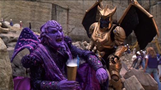 Mighty Morphin Power Rangers: The Movie - Ivan Ooze, Goldar
