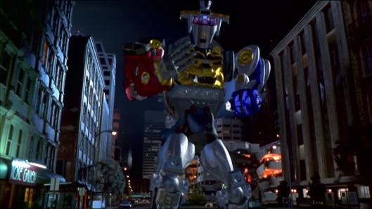 Mighty Morphin Power Rangers: The Movie - Ninja Megazord!