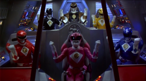 Mighty Morphin Power Rangers: The Movie - Power Rangers Geseticulate!