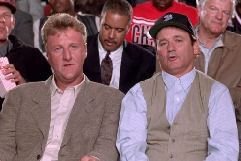 Space Jam - Larry Bird, Bill Murray