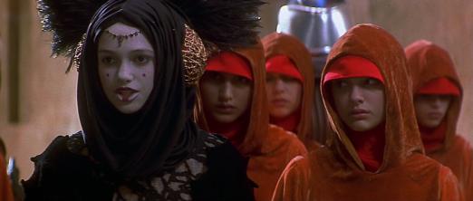 Star Wars Episode I: The Phantom Menace - Keira Knightley, Natalie Portman