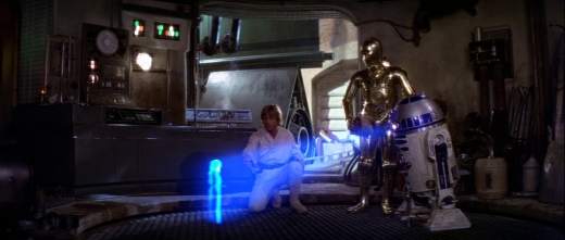Star Wars Episode IV: A New Hope - Luke, C-3PO, R2-D2