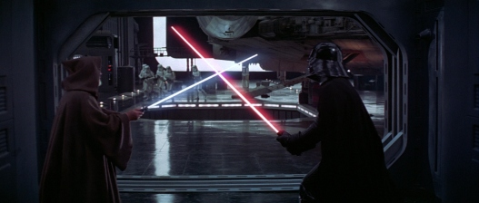 Star Wars Episode IV: A New Hope - Obi-Wan Kenobi vs. Darth Vader