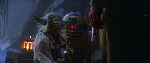 Star Wars Episode V: The Empire Strikes Back - Yoda, R2-D2