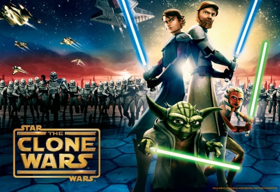 Star Wars - The Clone Wars (horizontal)