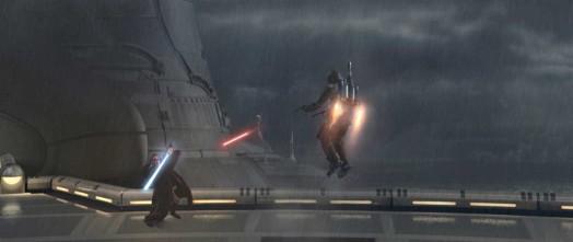 Star Wars Episode II: Attack of the Clones - Obi-Wan Kenobi vs. Jango Fett