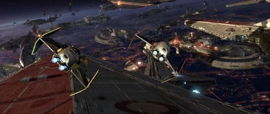 Star Wars Episode III: Revenge of the Sith - Battle of Coruscant