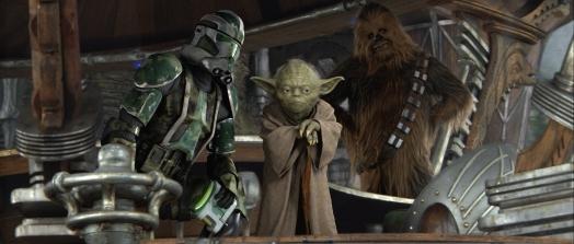 Star Wars Episode III: Revenge of the Sith - Clone Trooper, Yoda, Chewbacca