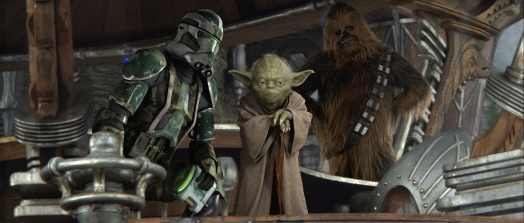 Star Wars Episode III: Revenge of the Sith - Clone Trooper, Yoda, Chewbacca