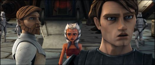 Star Wars: The Clone Wars - Obi-Wan Kenobi, Ahsoka Tano, Anakin Skywalker