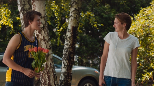 The Fault in Our Stars - Ansel Elgort, Shailene Woodley