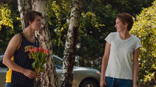 The Fault in Our Stars - Ansel Elgort, Shailene Woodley