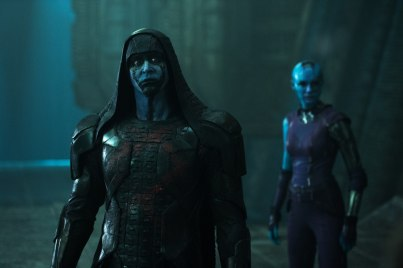 Guardians of the Galaxy - Lee Pace, Karen Gillan