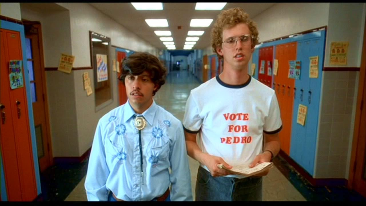 napoleon dynamite critique Napoleon dynamite is a 2004 american comedy film produced by jeremy coon, chris wyatt, sean covel and jory weitz, written by jared and jerusha hess and direc.