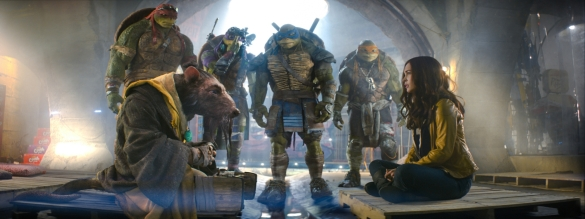 Teenage Mutant Ninja Turtles (2014) - EXPOSITION
