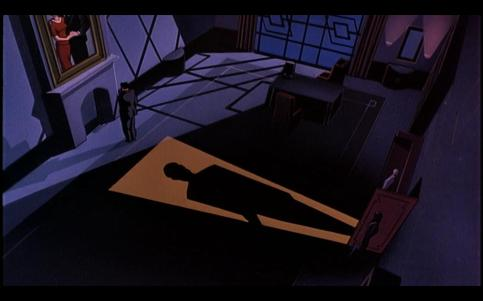 Batman: Mask of the Phantasm - Bruce contmplating