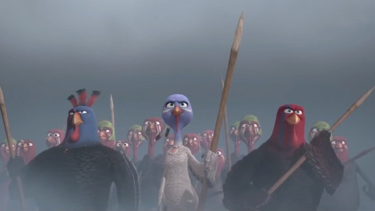 Free Birds - Ranger, Jenny, Jake (Jimmy Hayward, Amy Poehler, Woody Harrelson)