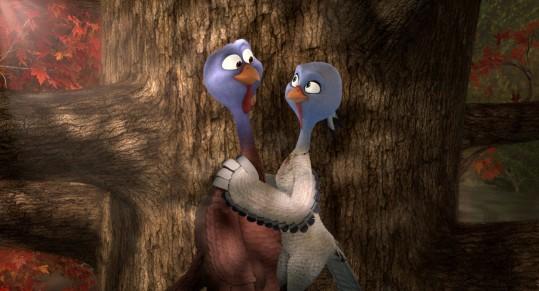 Free Birds - Reggie, Jenny (Owen Wilson, Amy Poehler)