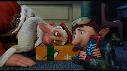 Arthur Christmas - Santa & Elf