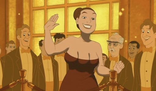 Eight Crazy Nights - Random 3-breasted woman