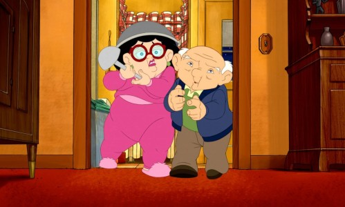 Eight Crazy Nights - Whitey and Eleanore