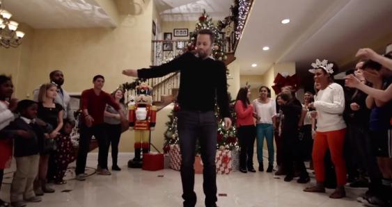 Kirk Cameron's Saving Christmas - Kirk Cameron's dancing...