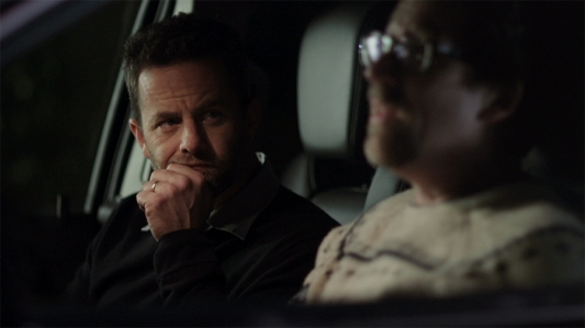 Kirk Cameron's Saving Christmas - Kirk Cameron's smug face, Darren Doane