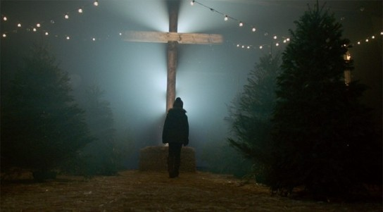 Kirk Cameron's Saving Christmas - Tree as the cross